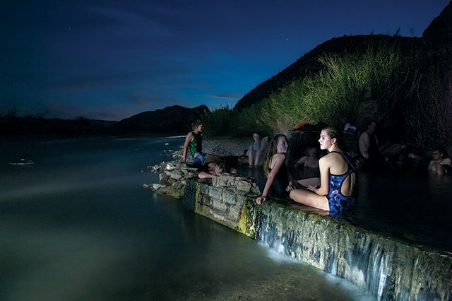 Boquillas Hot Springs soothes visitors with 105-degree water and spectacular views. Terlingua's farmer's market runs October through March. ...