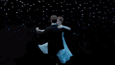 Ryan Gosling y Emma Stone bailando