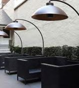 Dome Outdoor Heat Lamp