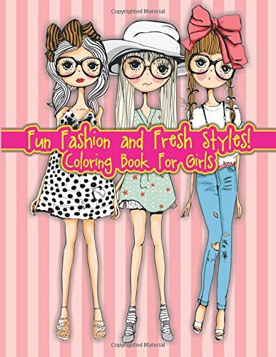 Coloring Book For Fashion : Fashion forward: a stress relieving adult coloring book