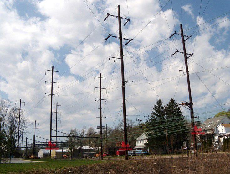 Stacked H Frame Electrical Poles : Best transmission tower images on pinterest