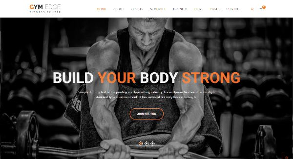 55+ Best Fitness Gym Website Templates - Web Design Wheel