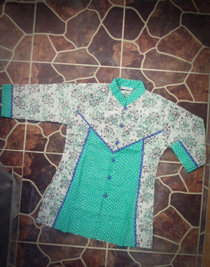 baru! blouse batik cantik (lengan 3/4) bisa untuk jalan, ke kantor, dan baju lebaran, hanya 75.000