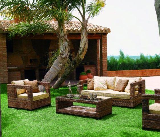 101 best terraza y jardin images on pinterest decks for Jardines modernos