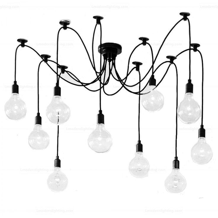 bulb chandelier bulbs edison lowes lights brushed nickel