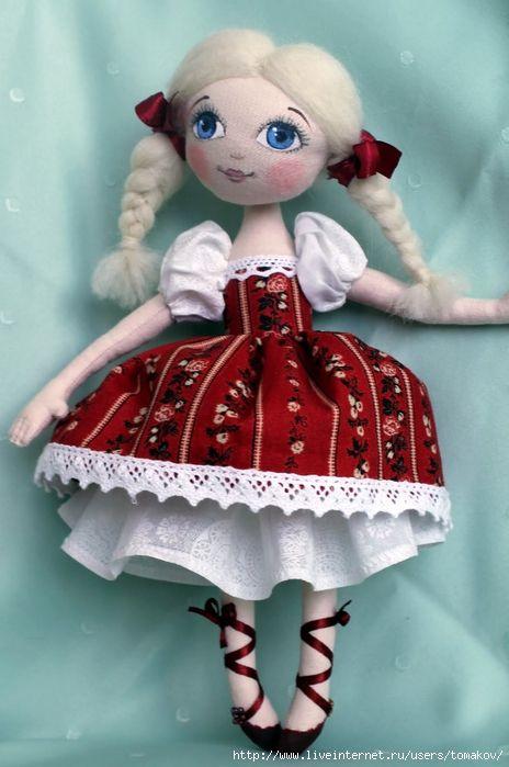 Куклы Златы Вдовиной. Красота!!!. Обсуждение на LiveInternet - Российский…
