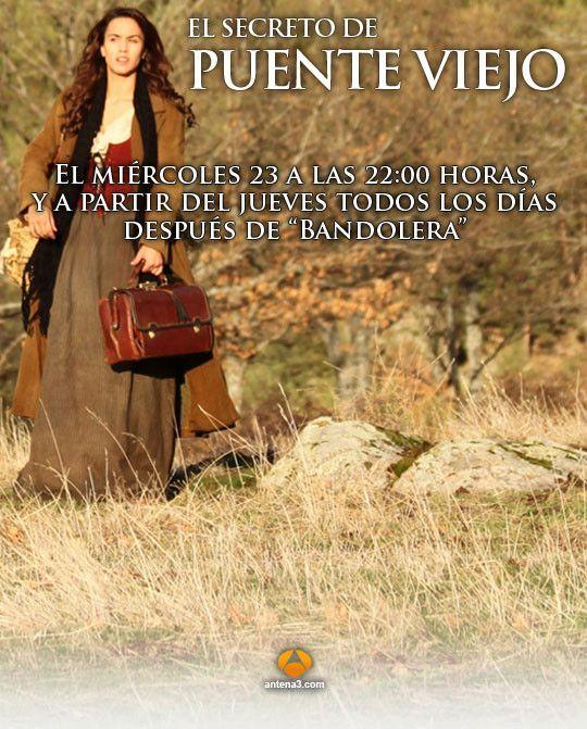 El secreto de Puente Viejo 1x1153 online gratis este Lunes 07 de Septiembre por Antena 3 en buena calidad online y en directo. No te pierdas la telenovela y recuerda que en novelasonlinehd.com puedes disfrutar de series de tv, series online como la serie española El secreto de Puente Vi