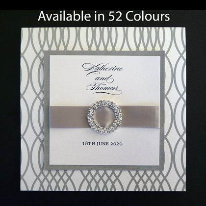 These wedding invitations are cheap. That doesn't mean they don't look expensive. Available in more than 50 colours. www.kardella.com