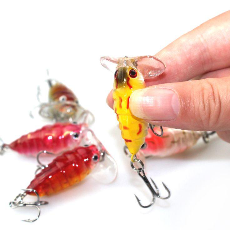 Fishing Lures  1 Pcs Plastic Top water Insects Lure 4cm 4.2g Fishing Bait Bass Crank Bait Free Shipping YE-206 <3 Ceci est une broche d'affiliation AliExpress.  Afficher l'élément dans les détails en cliquant sur le bouton de VISITE