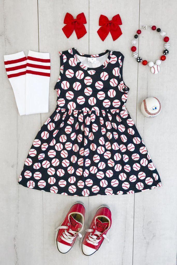 Black Baseball Dress