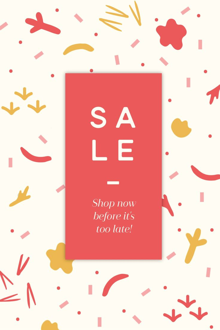 SALE.  #madewithover