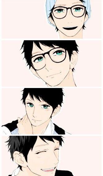 Shishio Satsuki from Hirunaka no Ryuusei♡ Such a cute manga