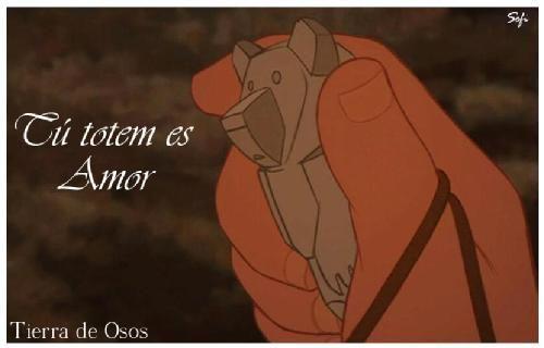 """Frases Disney - Especial Frases Disney .fotolog/passion_disney 1 2 3 4 5 6 7 8 9 10 11 12 13 (14 )15 16 17 Frase: """" tu tótem es Amor """" Personaje: Tanana Película: Tierra de osos _______________________________________ Como todos los muchachos de su edad, Kenai Esperaba ansiosamente la entrega de su tótem, Que representaría la guía que el debería Seguir para convertirse en hombre. Pero para su decepción, Tanana, La chamana de su pueblo, Le hizo saber que su tótem seria El Oso del Amor, es…"""