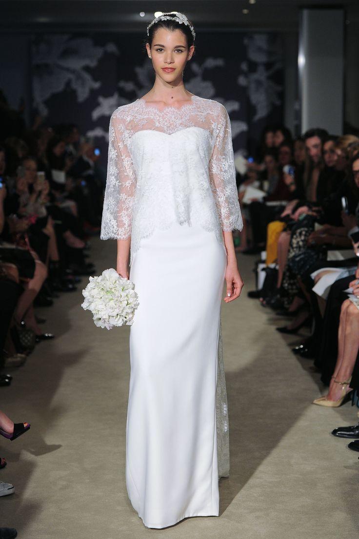 The Carolina Gown #CarolinaHerrera #Bridalspring2015