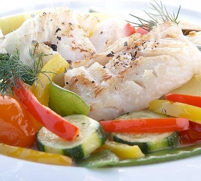 #Recette de #poisson vapeur aux #légumes