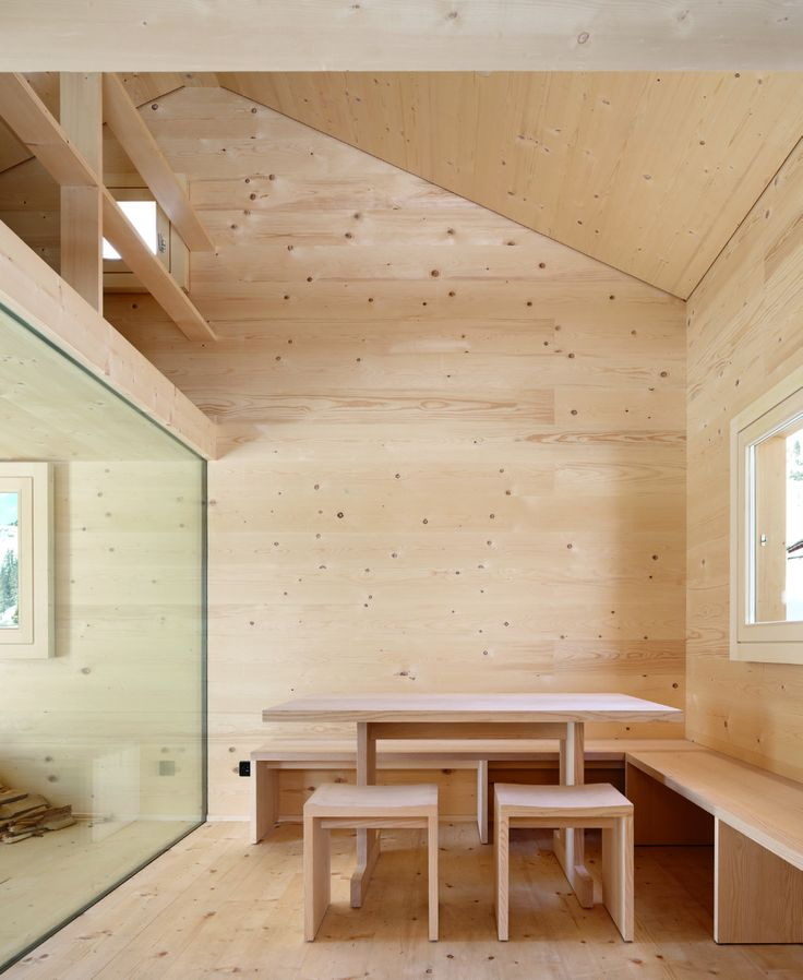 Bearth & Deplazes - Alpine hut, Wiesner 2014. Via, photos © Ralph Feiner.