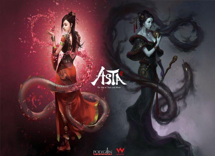 ASTA: The War of Tears darmowa gra MMORPG zaprojektowana przez koreańskie studio Polygon Games oraz wydana na terenie europu przez Webzen.