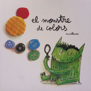 Cuento el monstruo de colores en láminas. http://loscuentosdelacaputxeta.blogspot.com.es/2013/09/el-monstruo-de-colores-anna-llenas.html