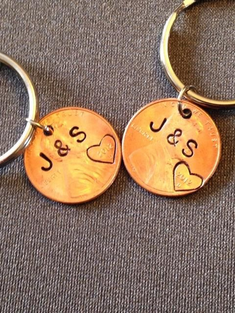 Our Lucky Year Matching Couples Keychain Set by JewelryImpressions