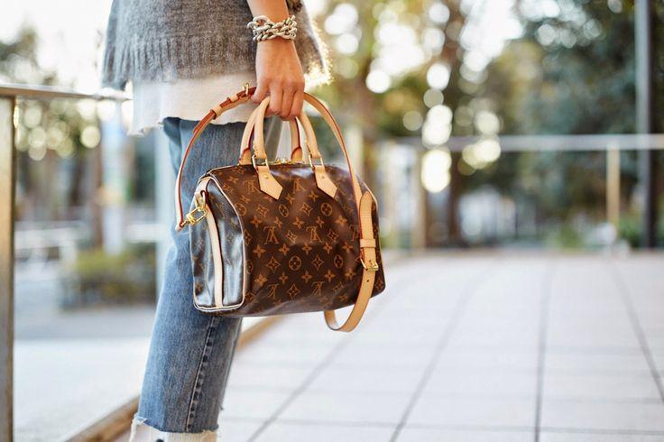 Louis Vuitton Speedy 25 Bandouliere