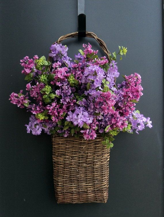 Basket of Lilacs by MelanieLeeDesign on Etsy, $65.00