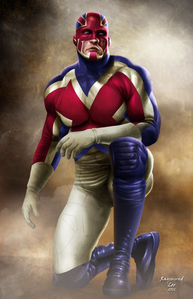 Captain Britain | On the Frontline by raymundlee