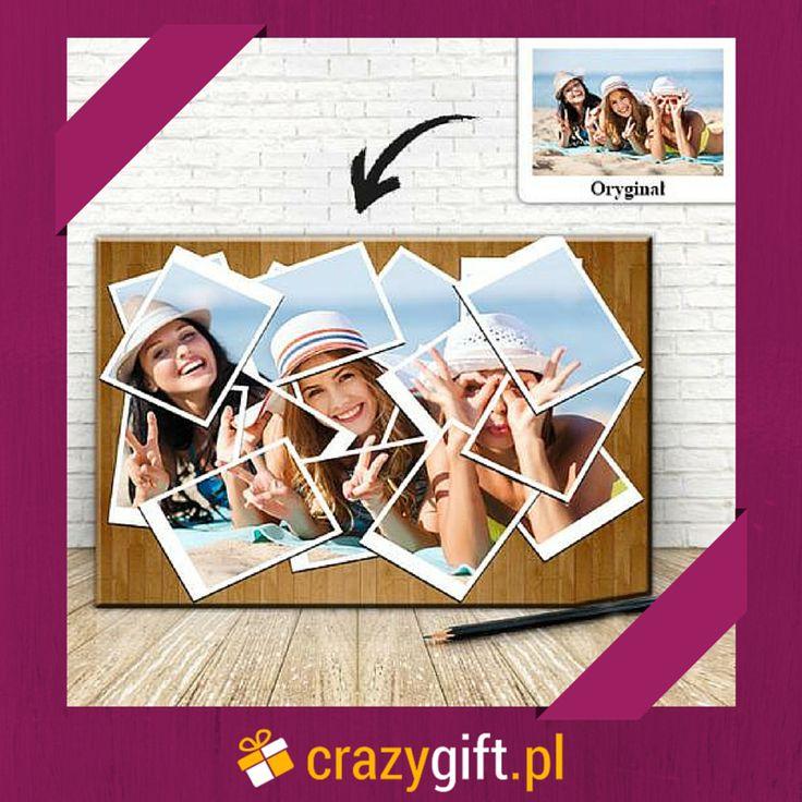 Szukacie prezentu urodzinowego dla Waszej najlepszej przyjaciółki? Polecamy taki foto-obraz ze zdjęciem, na którym znajdujecie się wszystkie http://bit.ly/1ttJbc4