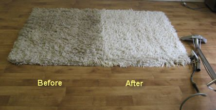 Our process will not damage the fabric or fade the color off. Care, precautions and attention is carried by cleaning the rugs.