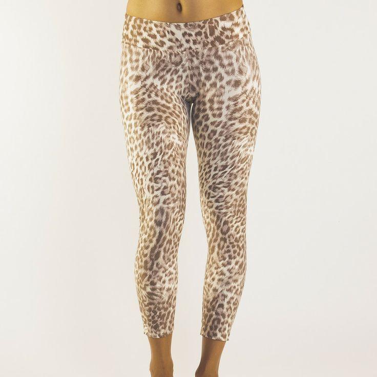 Pattern Legging Leopard Beige @ Liquido Active