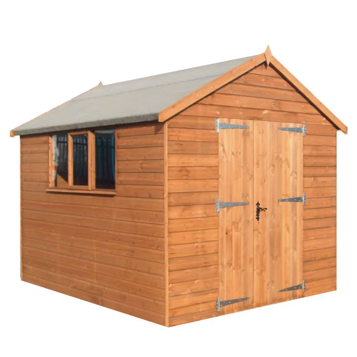 tgb x x groundsman apex shiplap shed next day delivery tgb x x groundsman apex shiplap shed - Garden Sheds Quick Delivery