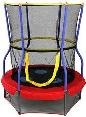 Kids Trampoline With Handle And Music – DealeryDo