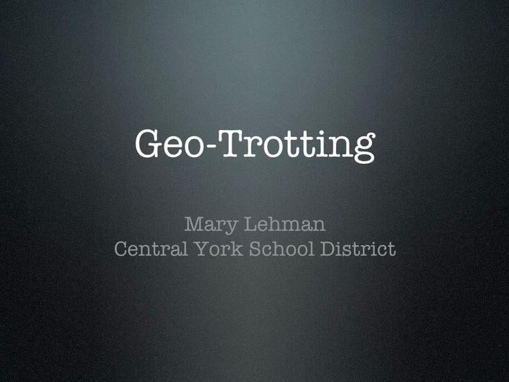 Global-Trotting by Mrs. Lehman's Third Grade via slideshare