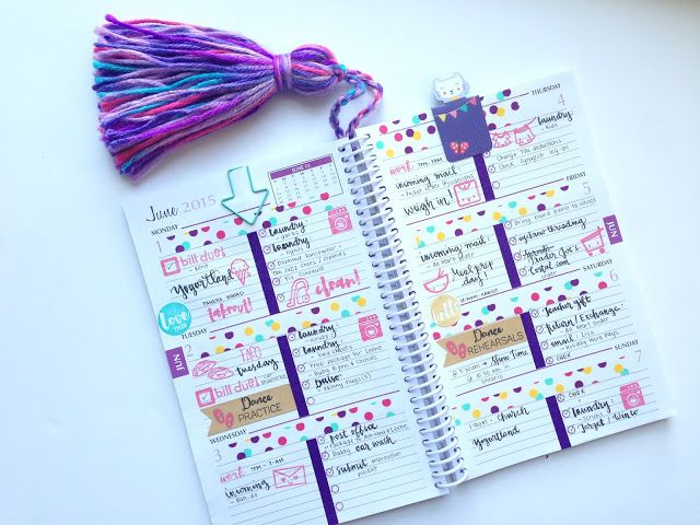 My Purpley Life Long list of Planner communities Inpirational planner pages