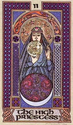 Celtic Tarot - The High Priestess