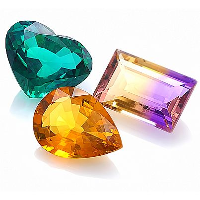Gemstones by Color: Tourmaline, Ametrine, Citrine. More @ www.multicolour.com and #gemstones