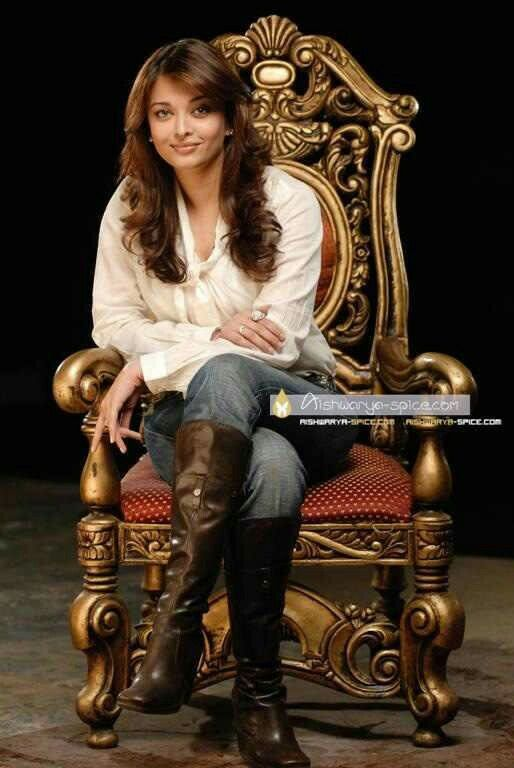 Queen of Bollywood on her throne, actress, Aishwarya Rai