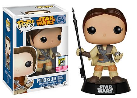 Funko announcing their SDCC exclusives wave 7 | Star Wars: Princess Leia [Boushh Unmasked] #sdcc
