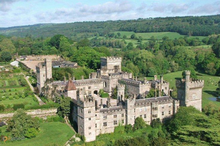 Замок Лисмор – #Ирландия #Манстер (#IE_M) Средневековый замок в графстве Уотерфорд.  ↳ http://ru.esosedi.org/IE/M/1000459552/zamok_lismor/