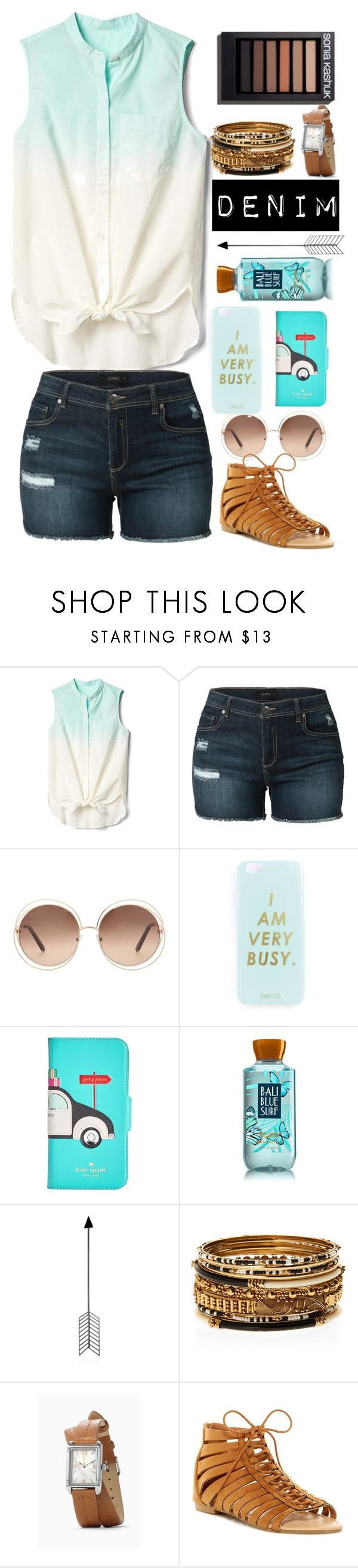 """Mint 🌊"" by the-crazy-dog-lover ❤ liked on Polyvore featuring Gap, LE3NO, Chloé, Miss Selfridge, Kate Spade, Bend, Amrita Singh and ANNA"