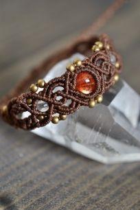マクラメアクセサリー - マクラメブレスレット・アンクレット - 旅する天然石とマクラメアクセサリーのお店 Macrame Jewelry MANO