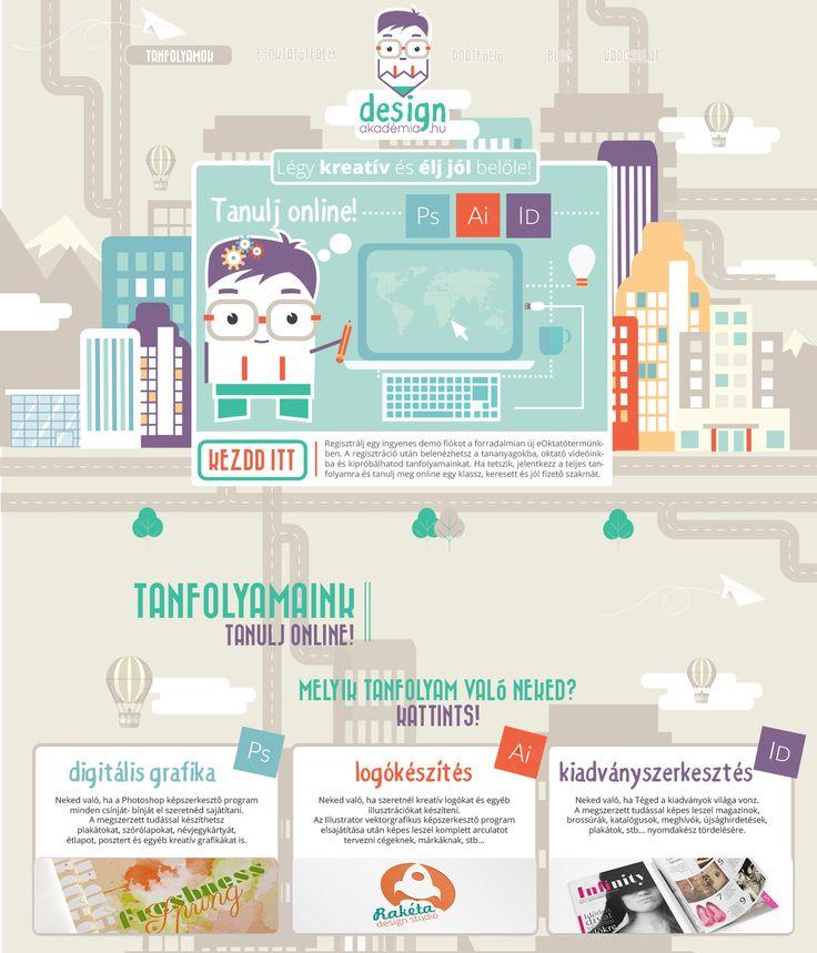 www.designakademia.hu webdesign tervezés