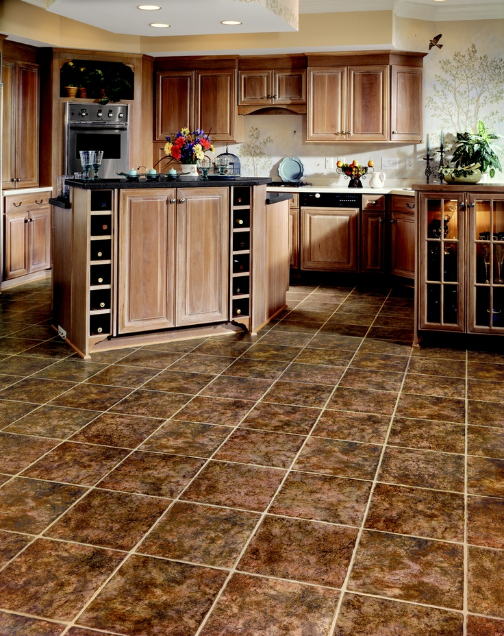 68 best congoleum resilient sheet tile images on for Kitchen floor covering