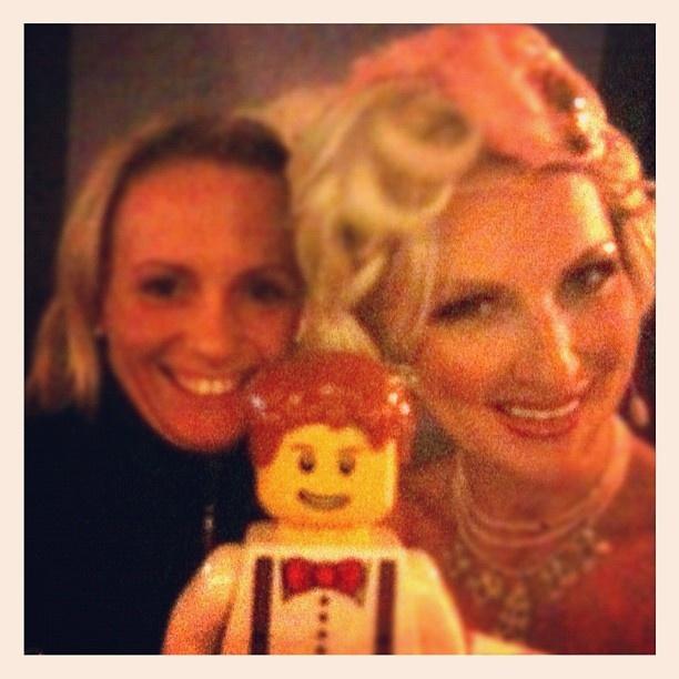 """Désirée Nick and me at """"Bar jeder Vernunft"""" #berlin #berlintourist #travel #lego - @lampenfieber- #webstagram"""
