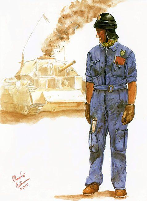 """P.A.I. - Brigadiere, Italian Africa Police (Polizia dell'Africa Italiana), Battaglione 'R. Gessi' , 1941"""", Claudio Antonucci"""