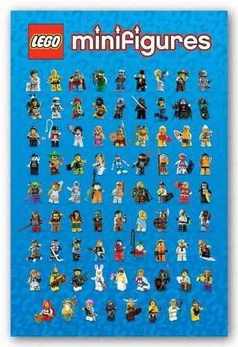 Pyramid Lego Mini Characters Wall Poster Pyramid