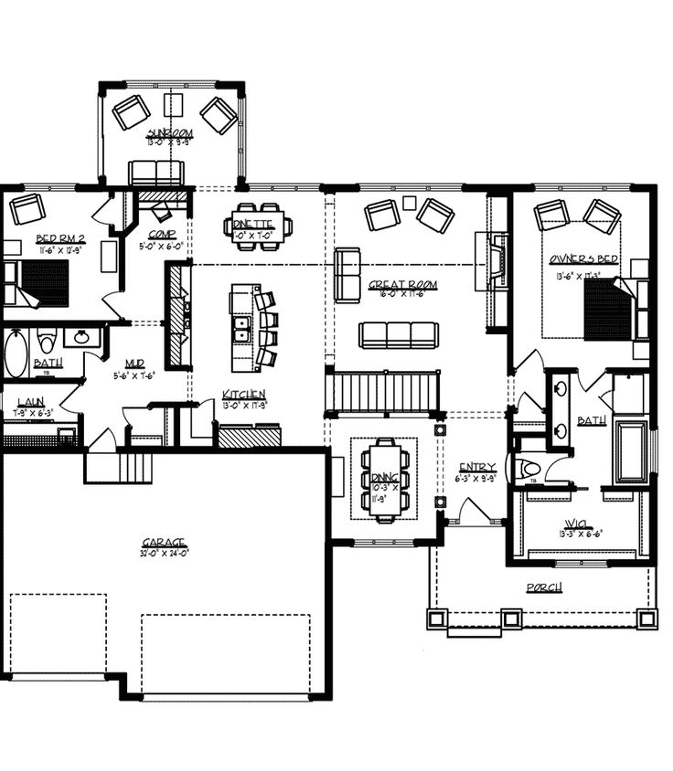 8 best 2d drawing images on pinterest floor plans home for House plans and more com home plans