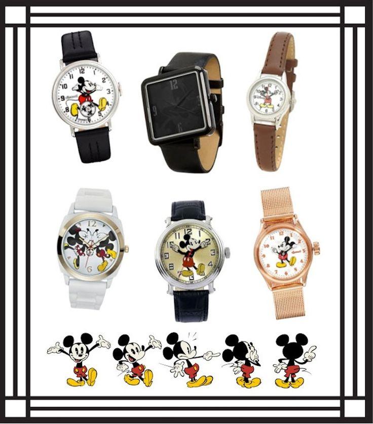 Mickey Watch Round Up | Disney Style