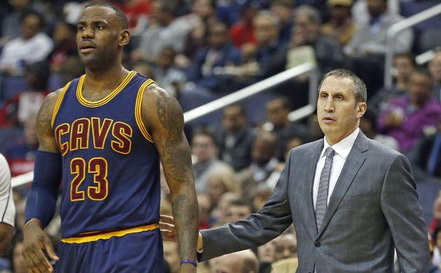 BREAKING:  LeBron James and Cleveland Cavaliers fire head coach David Blatt