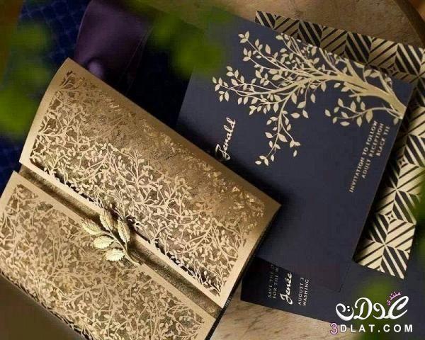 صور كروت دعوة فرح 2019 تصميمات بطاقات افراح موضة 2019 تصميمات كروت بطاقات الفرح Invitations Wedding Invitations Wedding