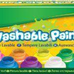 Crayola – 54-1205-e-000 – Kit De Loisirs Créatifs – 10 Pots De Peinture – Lavable: 10 pots de peinture lavable de 59 ml chacun 10 couleurs…